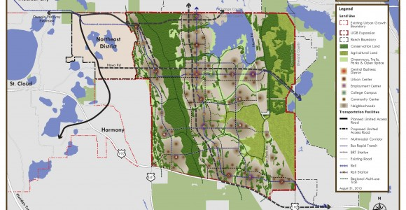 Osceola County Gives Final Local Approval to 133,000-acre North Ranch Master Plan